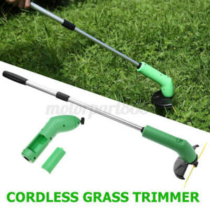 🔥 Electric Cordless Grass Trimmer Heavy Duty Weed Strimmer Cutter Tool Garden
