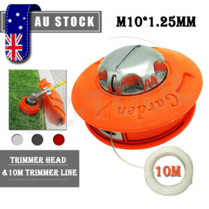 Twister Bump Feed Line Trimmer Head for Whipper Snipper Brush Cutter M10 Thread